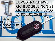 TASTO BLOCCAGGIO SCATTO RICHIUDIBILE CHIAVE FIAT 500 DELTA YPSILON 500 PUNTO EVO