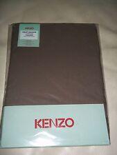 KENZO Home Lit Double Taille Drap Housse 200 fils au pouce capuccino Latte NEUF