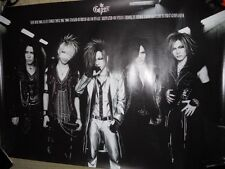 the GazettEthe GazettE TOUR 2007-2008 STACKEDRUBBIS promoPOSTER Japan LIMITED!!