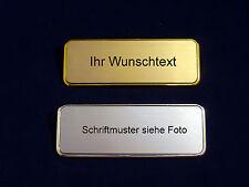 Namensschild für Tür ,Briefkasten oder Klingel / Kostenlose Gravur