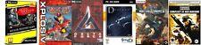 alien shooter & delta force & crimson skies & descent 3 & terrorist  new&sealed
