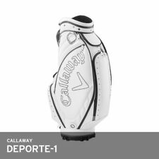 Callaway 2019 Deporte-1 Men Caddie Bag 9.5In 7lb 5Way Big-Sized Pocket Ems White