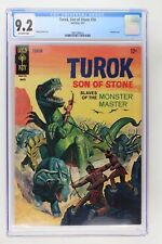 Turok, Son of Stone #56 - Gold Key 1967 CGC 9.2 Painted cover