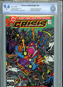Crisis on Infinite Earths #12 CBCS 9.6 NM+ 1985 Final Battle DC Comics