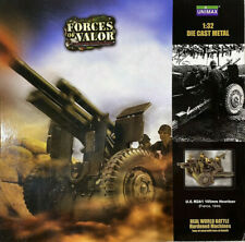 Forces of Valor #81013 U.S. M2A1 105mm Howitzer France 1944 1:32 Scale Die Cast