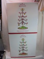 2017 Hallmark Keepsake Season's Treatings Miniature Tree Set 2 Versions REPAINT