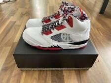 Air Jordan 5 Retro Quai54 (2021) DJ7903-106 (SIZE 12) Men's BNIB