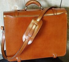 Handmade Leather Briefcase-Computer Case W/O Lock