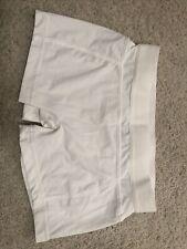 stella mccartney adidas bike tennis shorts White Small