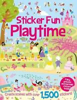 Sticker FunPlaytime (Sticker Fun Bumper Books) by Mayes, Susan, NEW Book, FREE &