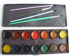 Soviet Vintage Watercolours original box