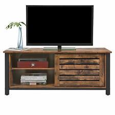TV Lowboard TV-Schrank Fernsehtisch mit Schiebetüren und 2 Regalebenen LTV41BX
