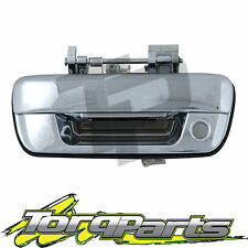 TAILGATE HANDLE CHROME WITH KEY HOLE SUIT HOLDEN RODEO RA 03-06 TAIL GATE