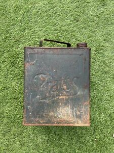 Vintage Pratts 2 Gallon Petrol Fuel Can