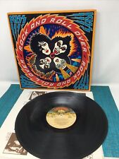 Kiss - Rock And Roll Over Vinyl Lp Record - 1976 Casablanca Nblp 7037