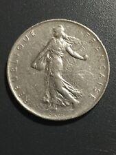 1969 France 1 Franc, Republique Francaise