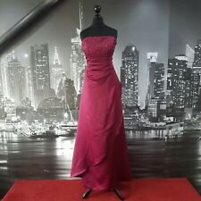 Forever Yours DRESS (Merlot-Size 14) Bridesmaid, Prom, Ball, Cruise, RRP £200+