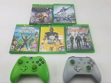 Xbox One Controllers&Games-Des tiny-Untested