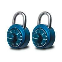 Master Lock Co 2-Pack Colored Dial Combination Padlocks