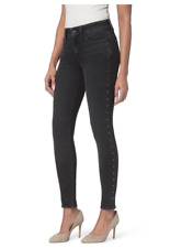 NYDJ 230$ High Rise Ami Embellished Stretch Skinny Jeans Size 10