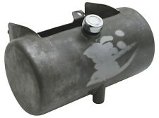 Ultima 3.5 Raw Metal Center Fill Round Oil Tank for 1984-1999 Softail or Rigid