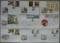 s897) Ukraine über 300 FDC  Abo-Sammlung 1992 - 2002