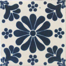 #C070) Mexican Tile sample Ceramic Handmade 4x4 inch, GET MANY AS YOU NEED !!