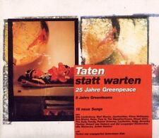 Taten statt Warten-25 Jahre Greenpeace (1996) Udo Lindenberg, Wolf Maahn,.. [CD]