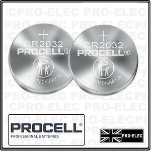 Vauxhall Agila Car Key 3V Volt Lithium Cell Batteries 2 X (CR2032)