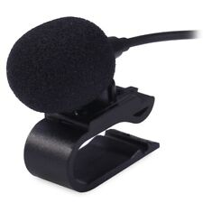 3.5mm Wired Microphone Car Stereo GPS Bluetooth Enabled Audio DVD External Mic E