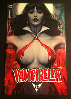 VAMPIRELLA 2 VARIANT STANLEY ARTGERM LAU NM 2019 VOL 9 RED SONJA 1 COPY QUEEN