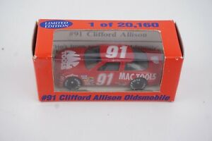1993 Clifford Allison #91 Mac Tools Oldsmobile 1:64 Diecast NASCAR (1 of 20,160)