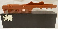 Vintage Comb - Tri-Comb Waver Synthetic Hair Piece Tool 1970's Patent