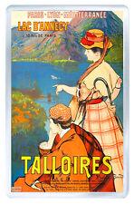 TALLOIRES FRANCE VINTAGE REPRO FRIDGE MAGNET SOUVENIR IMAN NEVERA