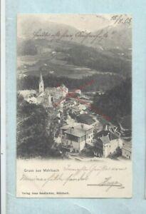 Nr-40303  PK  Gruss aus Mühlbach im Pustertal Südtirol Rio di Pusteria) Italien