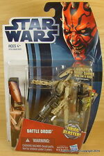 STAR WARS Clone BATTLE DROID Figure Tan Movie Heroes MOC!