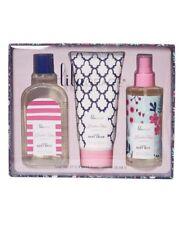 Lila Grace Rose Fragrance Bath Set Rose Lotion Fragrance Mist Body Wash Gift Set