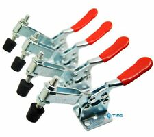 4x Hand Tool Toggle Clamp 201B Horizontal Clamp 201-B Quick Release Tool 198Lbs