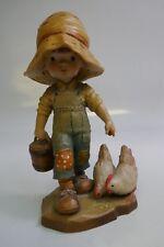 "Anri ""Morning Chores"" 6"" Figurine By Sarah Kay Near Mint Store Display"