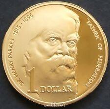 *1996  Australian Sir Henry Parkes $1 Proof*