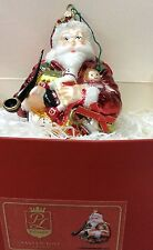 Eucnb! Polonaise Santa W/ Toys Christmas Tree Ornament