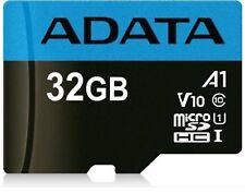 Adata 32GB Micro SD Fits Samsung Galaxy S7 Edge S8+ S9+ A7 A8 A8+ A9 S10/+ J5 J7