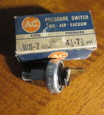 Hillman Humber Singer Oil Pressure Sender A/C WS-7 NOS