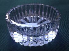 Lead Crystal, Cut Glass, English Rose And King Etched Base