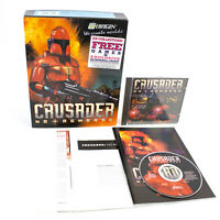 Crusader No Remorse for PC CD-ROM by ORIGIN in Big Box, 1995, CIB, VGC