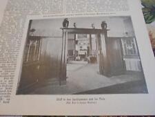 1907 Baugewerkszeitung 37 / Großalmerode Rommerode / Nitsche aus Gera