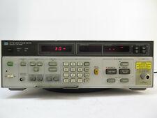 Hp 8970b Noise Figure Meter 10 2047 Mhz Option 020