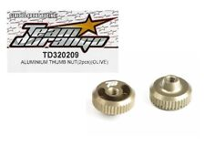 RC Team Durango TD320209 Aluminum Thumb Nut 2p Olive DEX210 DESC210 Buggy Option