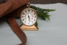 Antique look Table clock, Made from brass, desk clock