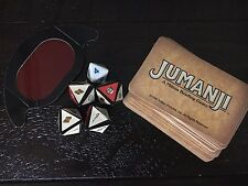 Jumanji Board Game Replacement Rescue Dice and danger cards all 30